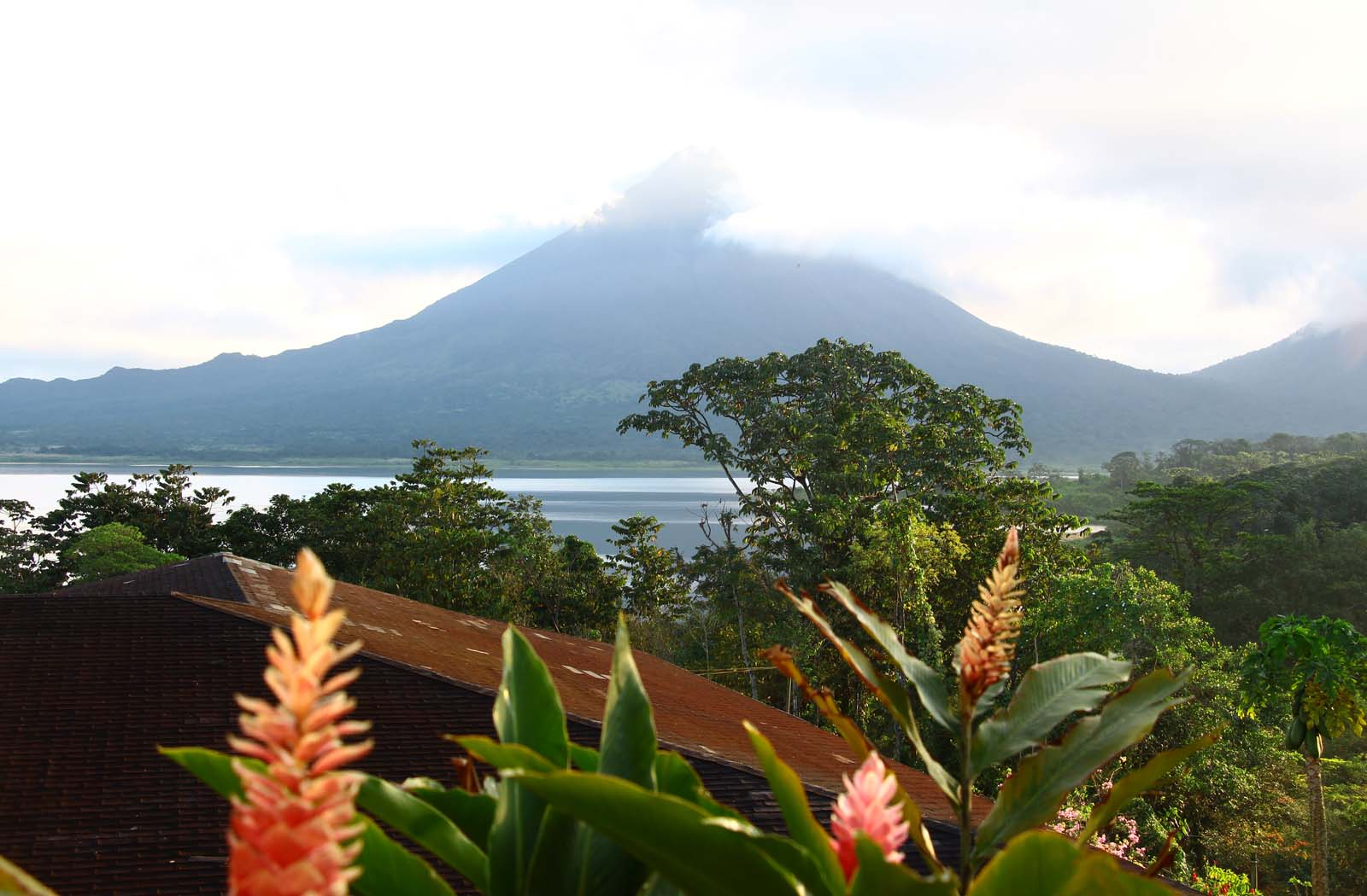 Le volcan d'Arenal
